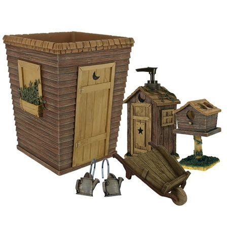 image gallery outhouse bathroom decor
