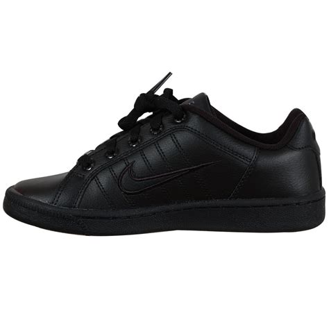school shoes for black nike court tradition 2 school shoes black
