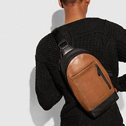 Coach Cus Sling Backpack 1 coach manhattan sling pack in sport calf leather