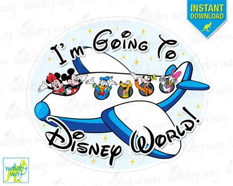 printable epcot tickets i m going to disney world mickey airplane printable iron