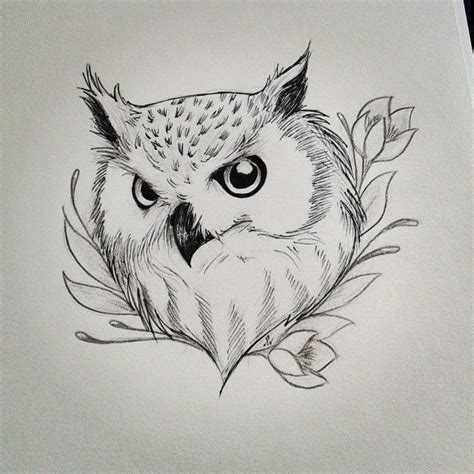 owl tattoo sketch tumblr best 25 owl drawings ideas on pinterest owl sketch owl