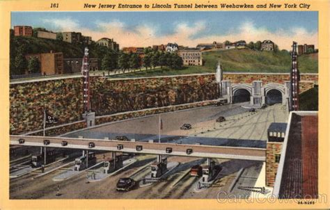 lincoln tunnel entrance new jersey entrance to lincoln tunnel weehawken nj