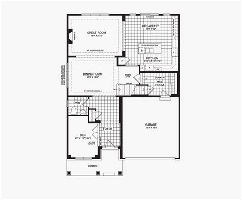 minto homes floor plans avalon the mackenzie new homes in orleans ottawa minto