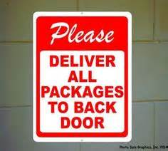 Does Usps Deliver To Your Door by Horses Pets And Signs On