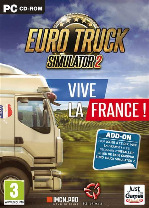 Dvd Truck Simulator 2 Include All Dlc ets2 quot vive la quot dlc jeu de simulation sur pc jeu sur pc jeu pas cher