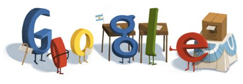 doodle general poll argentina s general election also on
