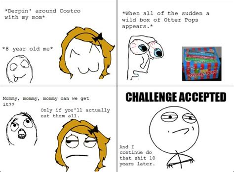 Challenge Accepted Meme Face - funny challenge accepted meme face photos quotesbae