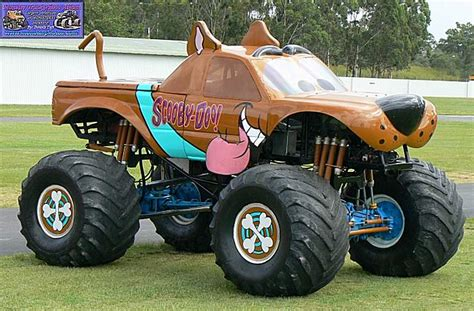 scooby doo monster truck video monster truck photo album