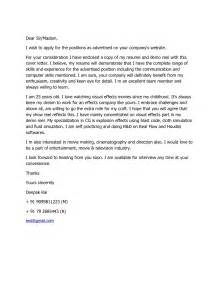 Cover Letter Dear Sir Madam by Dear Sir Madam Cover Letter The Letter Sle
