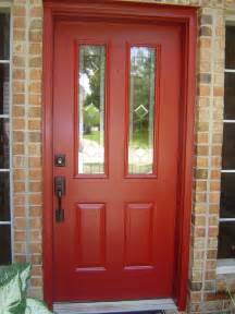 pics photos paint colors for front doors on red brick houses