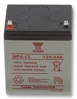 a 12 0 v battery is connected to a 4 50 mf capacitor how much energy is stored in the capacitor np4 0 12 yuasa rechargeable battery np series valve regulated single cell 12 v lead acid