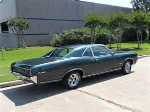 Pontiac Gtos For Sale 1966 Pontiac Gto Sport Coupe For Sale Houston