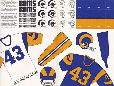 1973 la rams the rams return to la where they made nfl helmet history