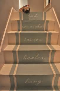 How To Decorate Basement Walls - painted stairs stair makeover