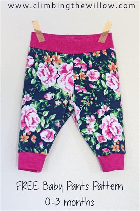 baby yoga pants pattern free baby basics tutorial pants with yoga waistband climbing