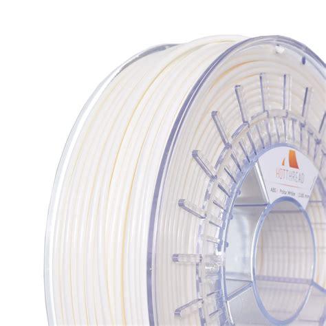 polar white 2 85mm hotthread abs filament dream 3d