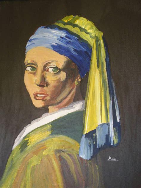 comprar cuadro la joven de la perla cuadros la joven de la perla alejandra natale artelista com