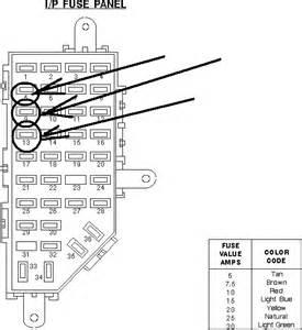 Brake Light System Fuse 98 Ford Explorer Checked Fuses Light Bulbs Brake Switch