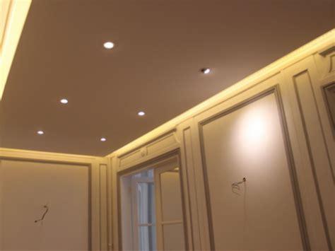 Led Eclairage Plafond by Profil 233 L 233 Pour Plafond D 233 Croch 233 Eclairage Led 75
