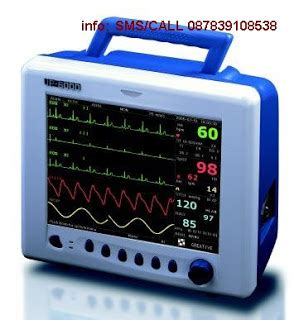 Monitor Rumah Sakit patient monitor up 6000 multy parameter with printer jual alkes rumah sakit