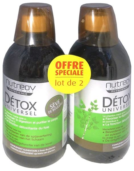 Speed Detox by Nutreov Speed Detox 2x500 Ml