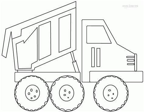 preschool coloring pages trucks garbage truck coloring pages free coloring home