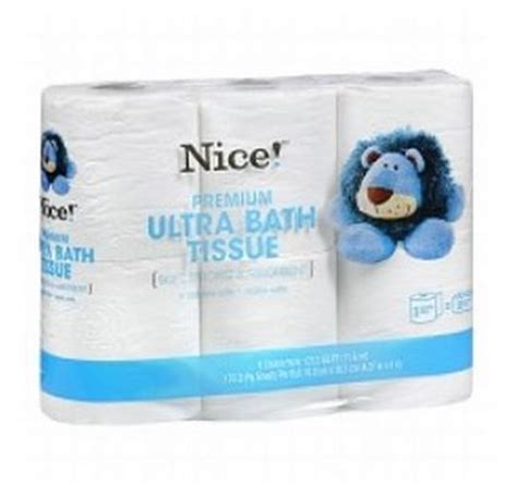 deal nice brand toilet paper   walgreens today