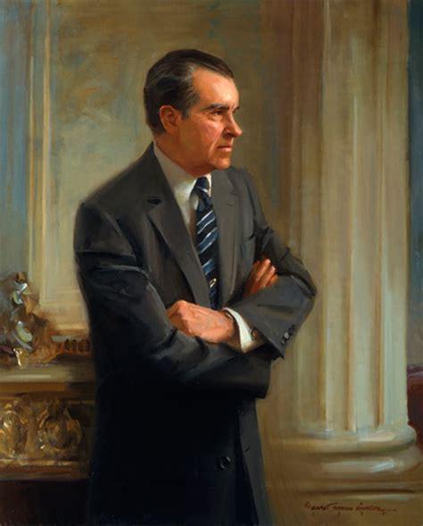 president richard m nixon everett raymond kinstler