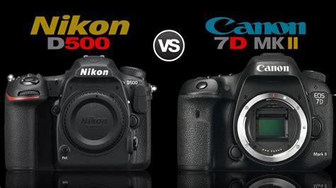 Nikon P900 Vs Canon 7d Ii by Nikon D500 Vs Canon 7d Ii Comparison