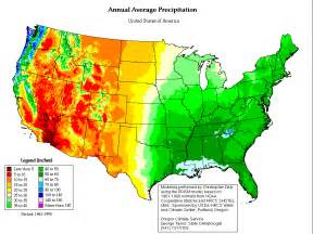 rainfall map rainfall and rainfall changes in the usa