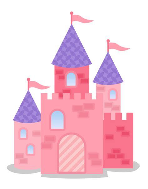 Pink Castle Clipart