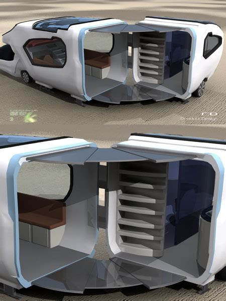caravan design forfreedom caravan with aerodynamic design for urban