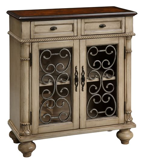 accent cabinets 2 drawer 2 door accent chest 94023 coast to coast