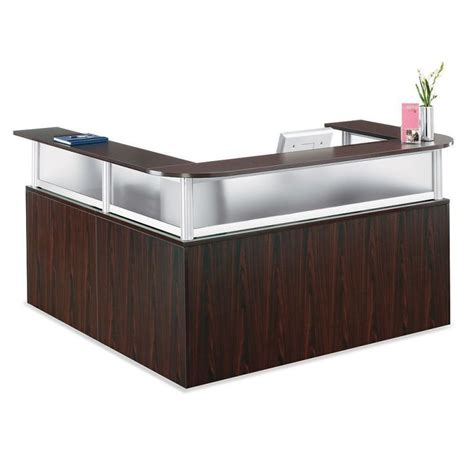 l shaped reception desk l shape reception desk 28 images mayline aberdeen