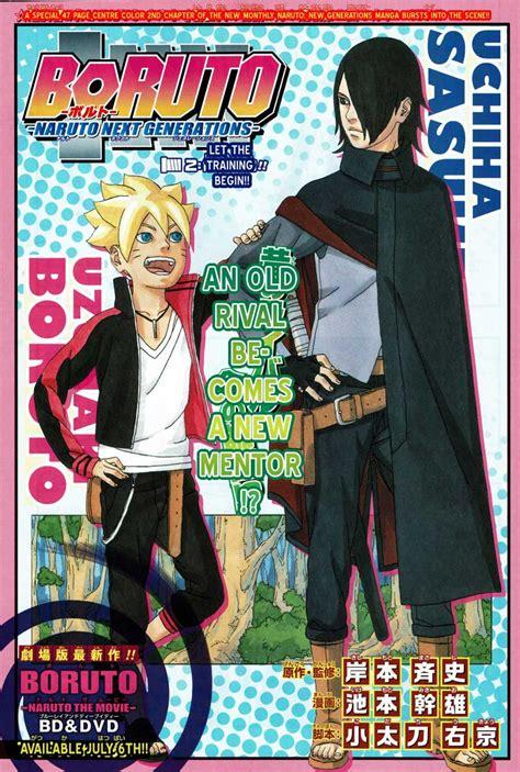 kapan film boruto dirilis manga boruto chapter 2 segera terbit adakah petunjuk
