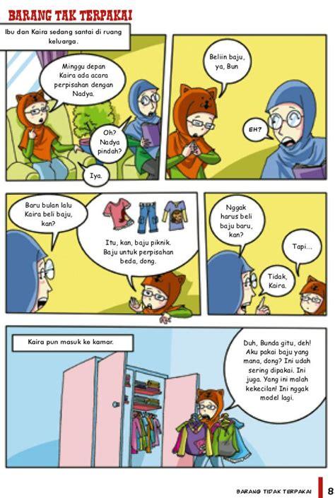 Buku Komik 55 Mutiara Akhlak cara membuat komik dan pictorial book oyako no hanashi