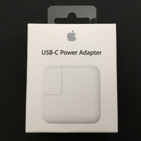 apple usb c power adapter apple s first usb type c power adapter gtrusted