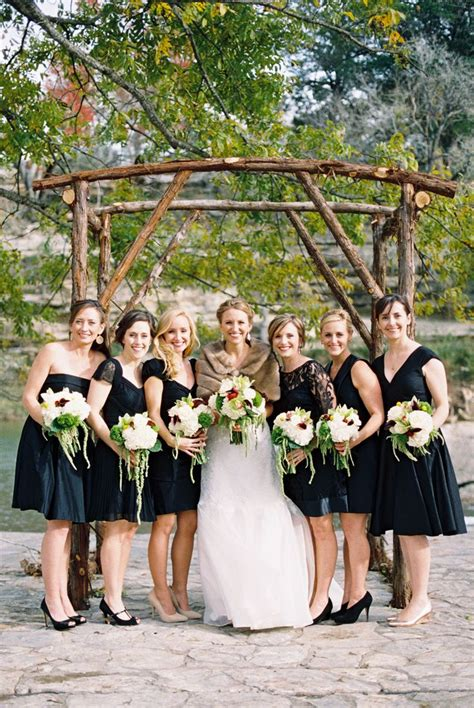 black bridesmaid dresses for every style of wedding 30 beautiful little and long black bridesmaid dresses