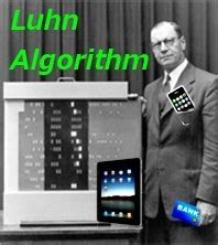 Credit Card Luhn Formula credit card numbers or imei in java luhn algorithm