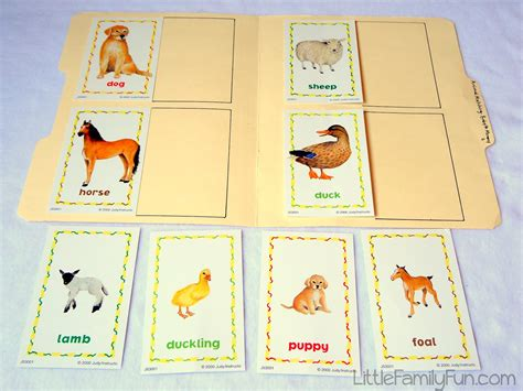 printable animal matching game 5 best images of mommy printable baby animal match baby