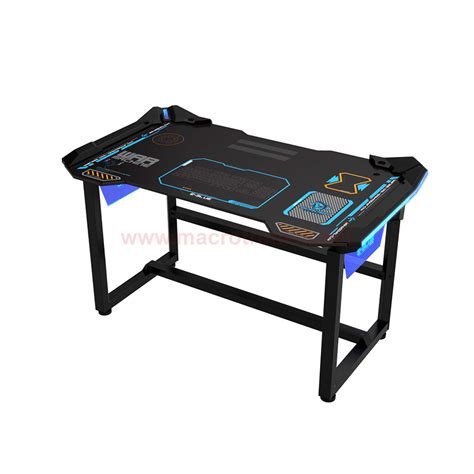 E Blue Auroza Led Gaming Desk 1 2meter Egt536 Gaming Pc Gaming Desk