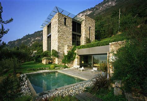 casas en italia casa italiana de piedra en el lago de como