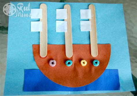 columbus day crafts for columbus day craft activity make a sail boat