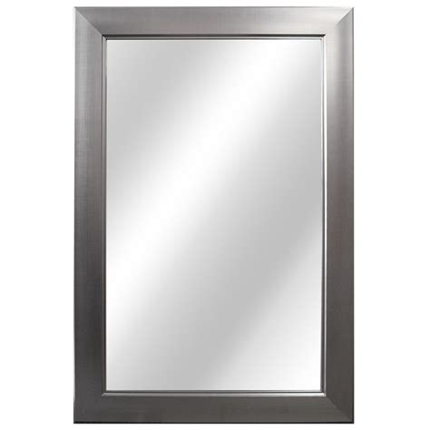 home decorators mirror home decorators collection 24 inch flat framed mirror fog free the home depot canada