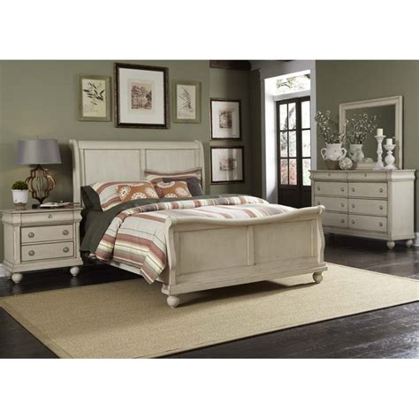 rustic king bedroom sets liberty furniture rustic traditions ii 4 piece king sleigh