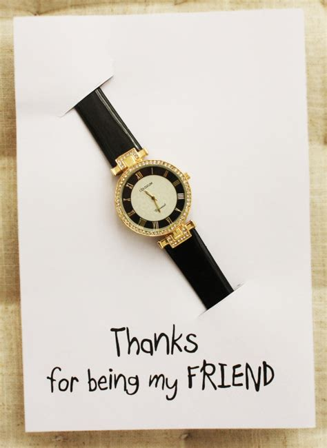 thanks for being my friend template cards thanks for being my friend pu leather fashion gift