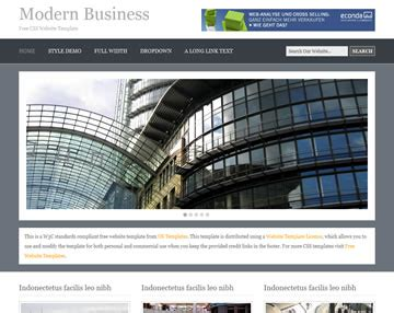 Modern Business Website Template Free Website Templates Os Templates Modern Business Website Templates