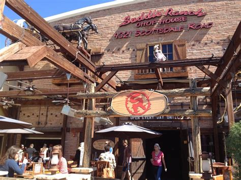 Saddle Ranch Chop House by Lunch After The Stagecoach Ride Yelp