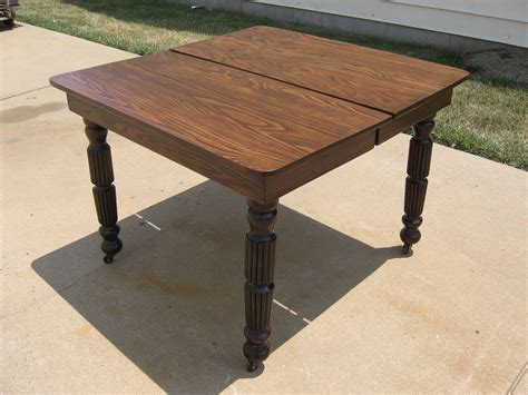 Refinished Dining Table Dining Table Oak Dining Table Refinish