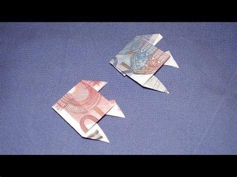 bootje van papier youtube geld vouwen bootje vouwen van geld boot vouwen